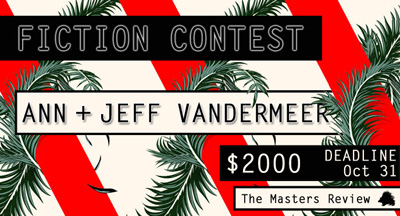 Fall Fiction Contest_Masters Review ad