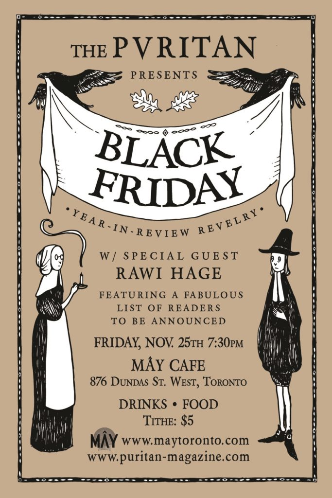 The Puritan presents Black Friday V